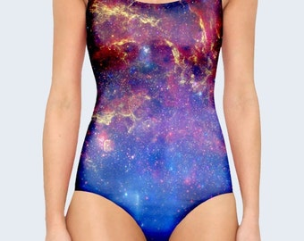 Galaxy Swimsuit Etsy
