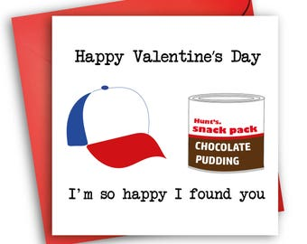Dustin Henderson Card/ Valentine's Day/ Stranger Things Card
