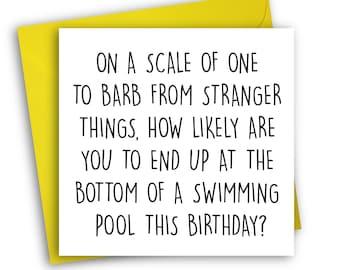 Stranger Things Card | Barb Holland | Birthday