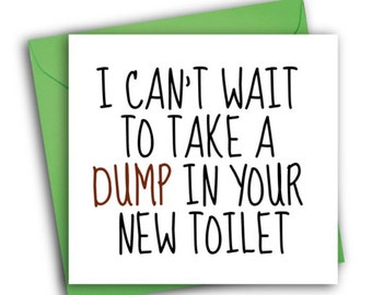 Funny new home card etsy new home cardfunny greetings card m4hsunfo