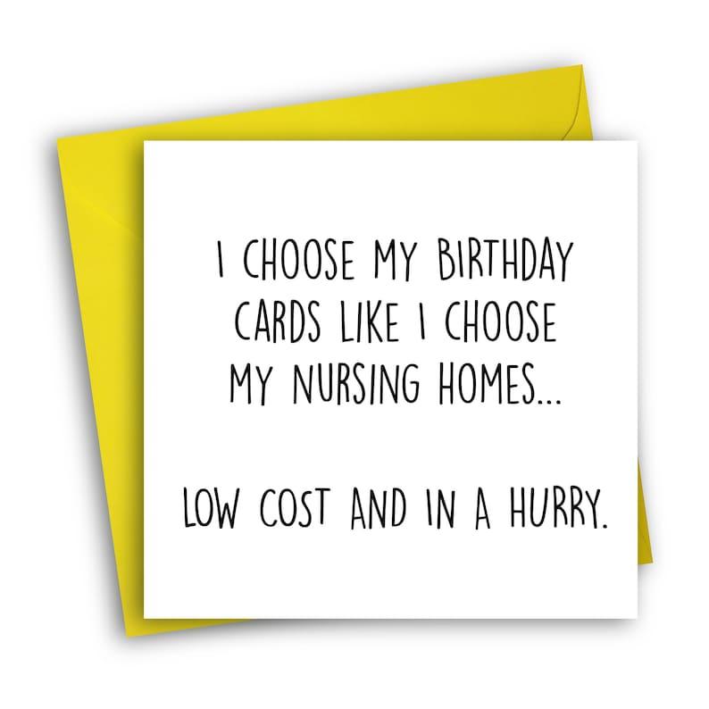 Lustige Geburtstagskarte Altersheim Karte Etsy