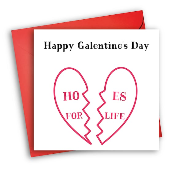 Happy Galentine S Day Card Card For Best Friend Etsy