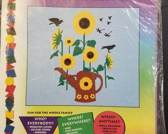Stik-ees 1994 106 Sunflower Sensation decal