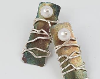 The Sterling Silver Cape Breton Earrings