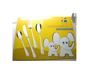 Children's cutlery cutlery engraving gift children's birthday elephant personalized Christmas gift birthday gift parten gift