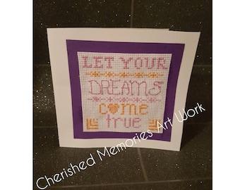 Que tu sueños tarjeta