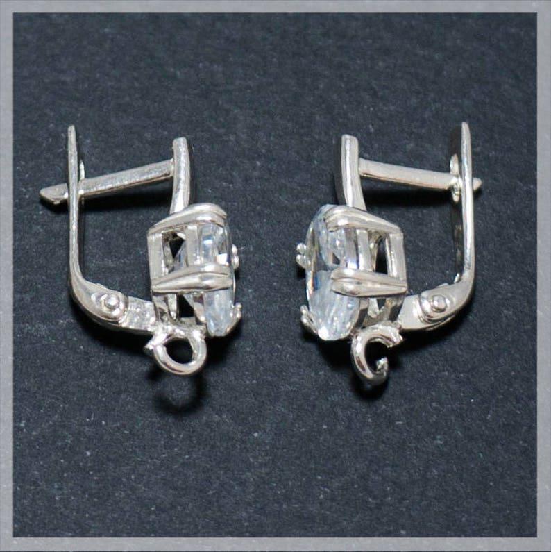 Blank Leverback Earrings Components Leverbacks Earrings Sterling Silver Sterling Silver Earrings Leverback Earrings Sterling Silver 925