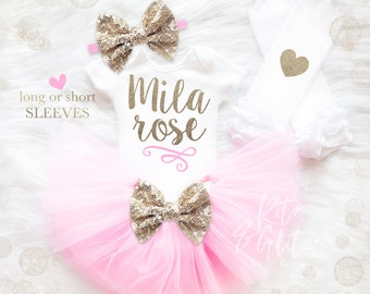 Newborn Girl Outfit Etsy