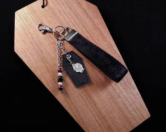 Skulls & Roses Key Ring