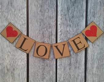 wedding banner, wedding decorations, wedding love banner, love banner, valentines sign, be my valentine, wedding decor, wedding backdrop