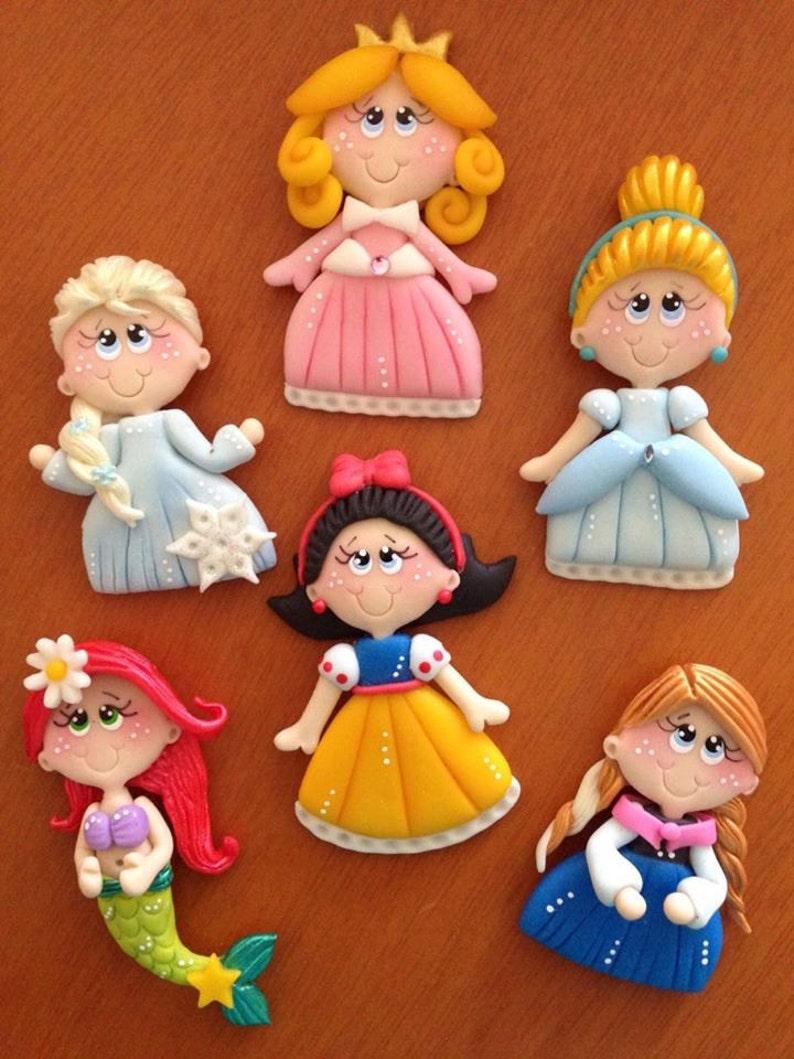 9ff252a924c2 Cold Porcelain Princesses   Princesas en Porcelana Fria