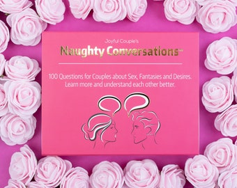 100 Sexy and Naughty Questions to Build Intimacy, Naughty Conversation Starters for Couples: gift for boyfriend, long distance idea