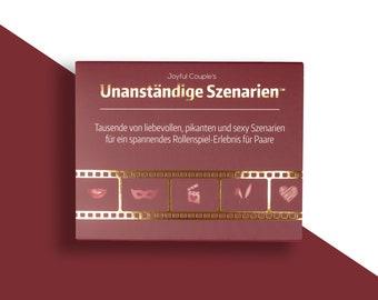 Unanständige Szenarien (Deutsch), Spiel für Paare, Geschenk, für freundin, Sex spiel, Geschenk zur Hochzeit, Jubiläum, roleplay, rollenspiel