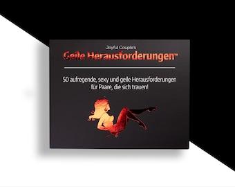 Geile Herausforderungen, (Deutsch), Spiel für Paare, BDSM, Geschenk, für freundin, Sex spiel, Geschenk zur Hochzeit Jubiläum, für Mann, Frau
