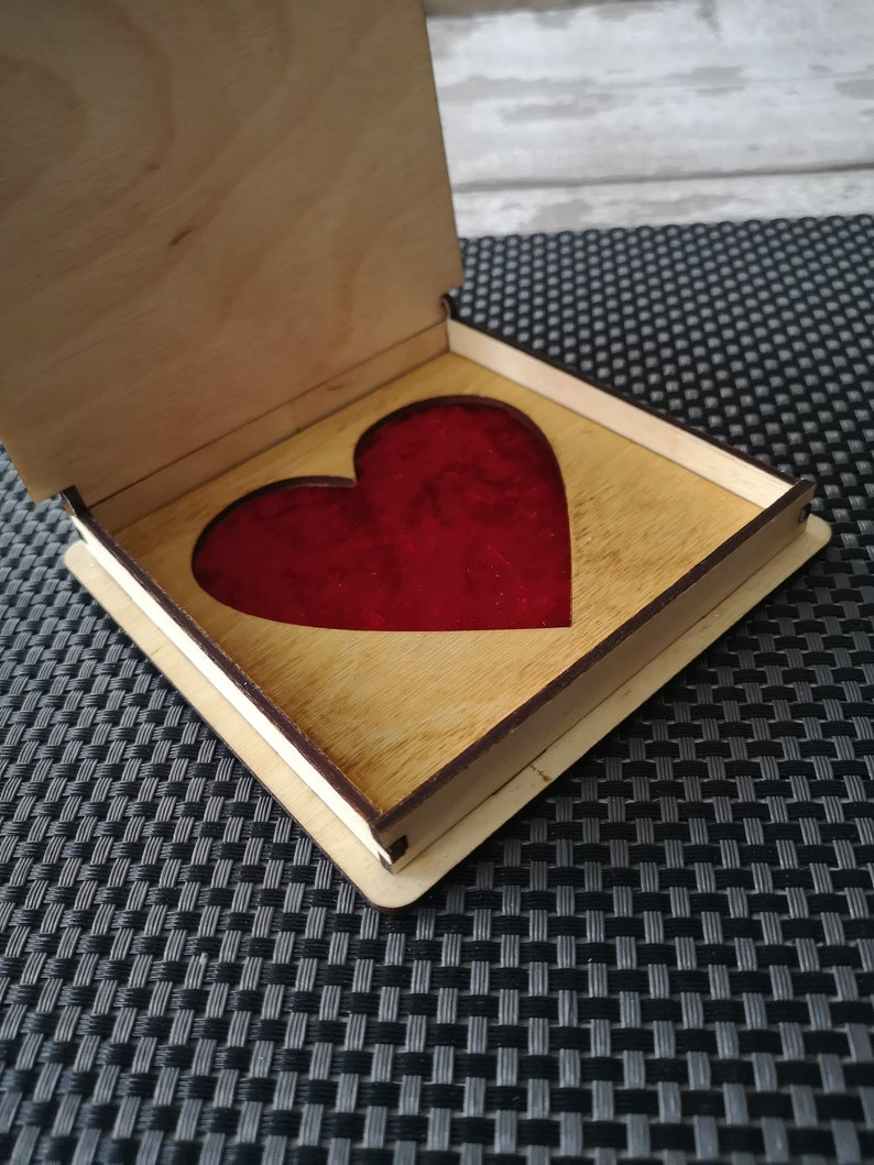 Wedding Rings Box Can Be Personalized