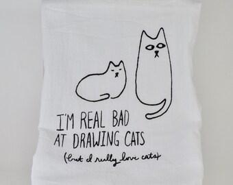 The Cat's Dishtowel