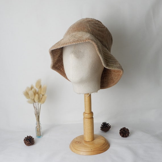 Vintage Kenzo corduroy bucket hat