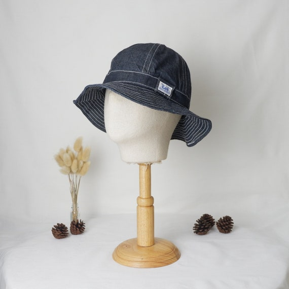 Vintage Lee Denim 6panel bucket hat Union made