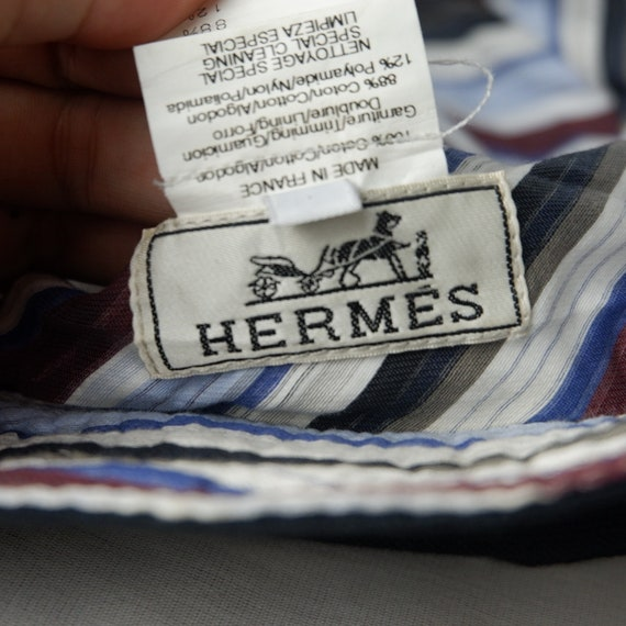 Vintage Hermes bucket hat made in France - image 10