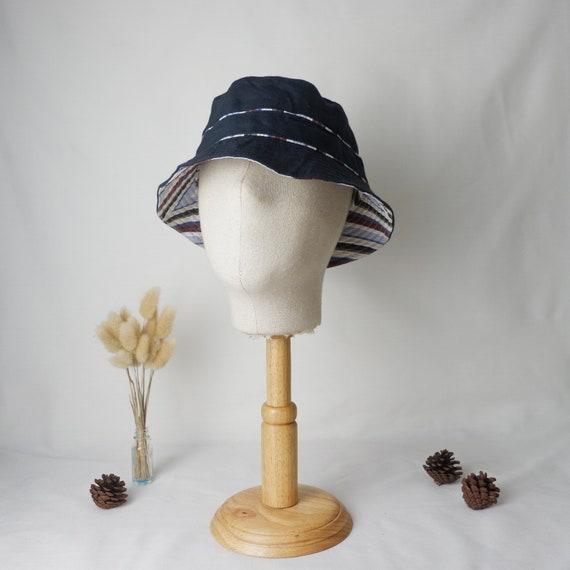 Vintage Hermes bucket hat made in France