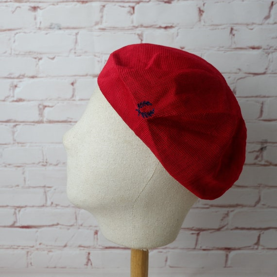 Fred Perry beret red