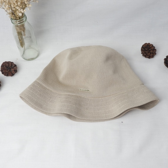 Vintage Kangol tropic player clochet bucket hat