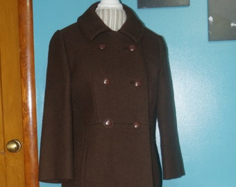 Joseph Horne Company Double Breasted Over Coat.
