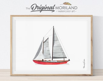 photograph regarding Sailboat Printable named Sailboat printable Etsy
