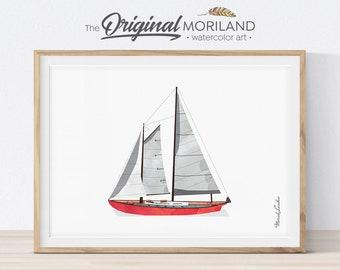 photograph regarding Sailboat Printable named Sailboat printable Etsy