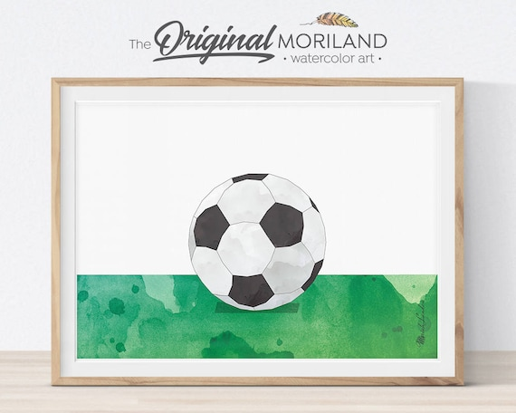 Soccer Ball Wall Art Soccer Printable Soccer Ball Print Sports Decor Soccer Gifts Kids Bedroom Art Boys Room Decor Soccer Party