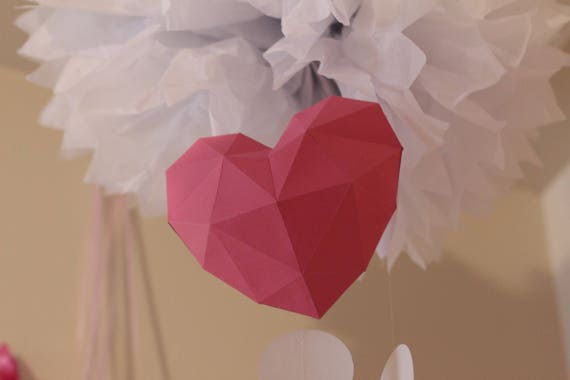 DIY Paper Heart Box Tutorial - Valentine's Day - Paper Kawaii ... | 380x570