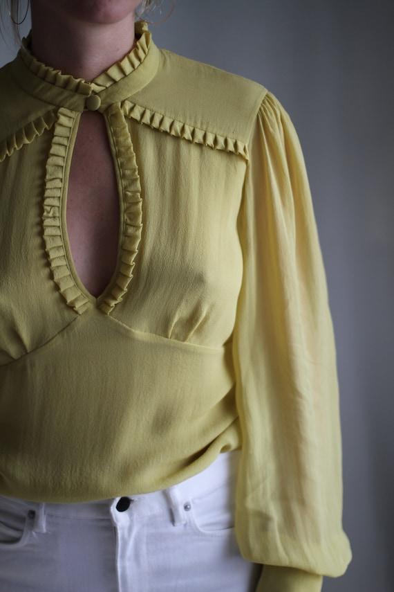 Silk Feminine Blouse