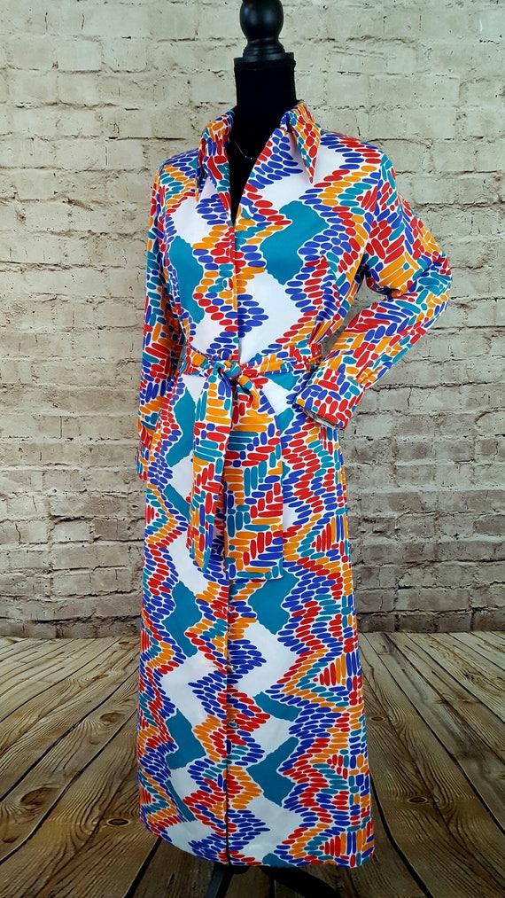 Vintage LANVIN Dress/1970's LANVIN Paris/Lanvin Sh