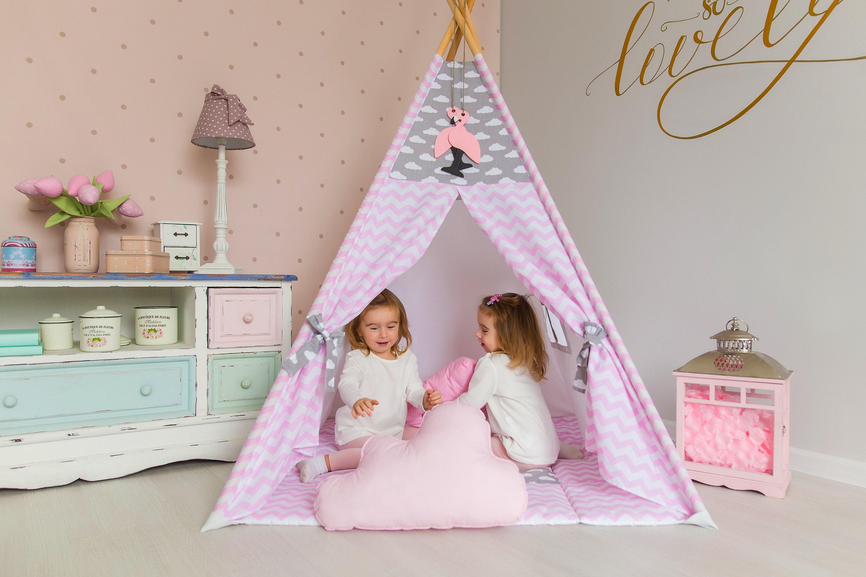 tipi tipi pour enfants wigwam tipi enfant playhouse tee etsy. Black Bedroom Furniture Sets. Home Design Ideas