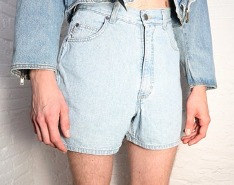 Vintage Light Denim Shorts