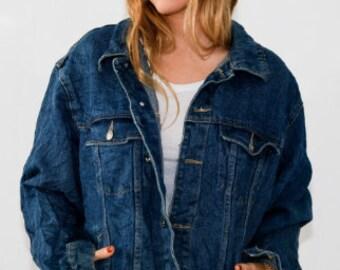 Vintage 90s Denim Ode Jacket