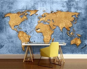 World map wall decal wallpaper world map old map wall decal world map texture wallpaper world map blue world map wall decal antique world gumiabroncs Choice Image