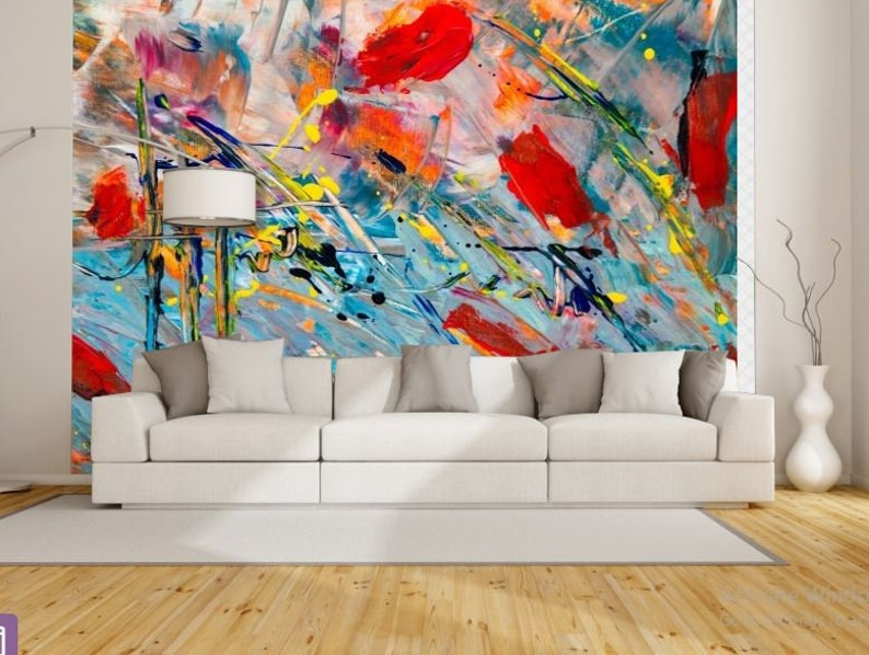 Astonishing 3D Abstract Mural Abstract Wall Mural Color Wall Mural Painting Mural Self Adhesive Vinly Paint Wall Mural Abstract Wallpaper Home Interior And Landscaping Staixmapetitesourisinfo