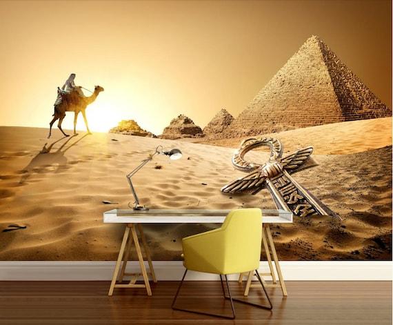 Egypt Pyramid Wallpaper Camel