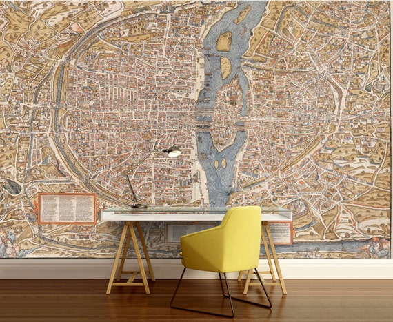 Paris map wall mural, Paris wall mural, vintage old map, vintage Paris on map t-shirt designs, map wall art, map book covers, map craft projects, map tattoo designs, map border designs, map wallpaper, map tiles, map art ideas, map canvas painting, map of america, map wall decal, map still life, map posters,