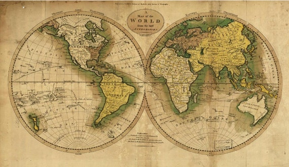 world map wallpaper, old map wall mural, vintage old map, mural,  self-adhesive vinly, world map wall mural, retro map wallpaper, retro map