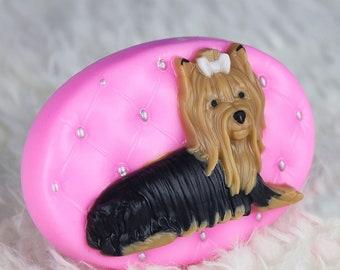 York Soap-Dog Soap-Yorkshire Terrier Soap-Yorkie-Dog Lovers Gift-Kids
