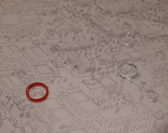Micro Macro Crime City Board Game Upgrade