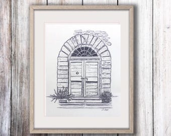 door pencil drawing victorian window architectural print of pencil drawing door art graphite sketch fine print travel art europe black and white artwork flower drawing botanical sketch etsy