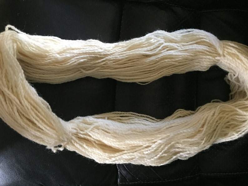 Two-Ply Mixed Breed Wool Yarn