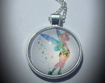 Disney inspired Tinkerbell necklace