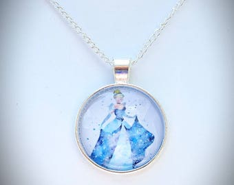 Disney Cinderella inspired necklace