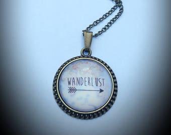 Wanderlust necklace