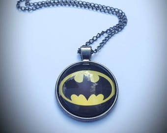 Batman inspired necklace