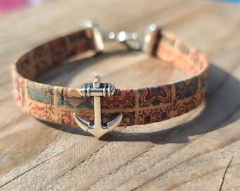 Paisley Anchor Bracelet